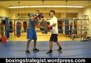 Boxing Padwork Combination Video of the day 1