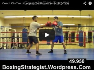 Coach Chi-Tao Li Looping Southpaw Combo III (VOD)