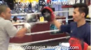 Coach Chi-Tao Li Mitt Work