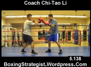 Jab Cross Checking Drill - Video of the day (VOD) - Coach Chi-Tao Li Boxing Strategist