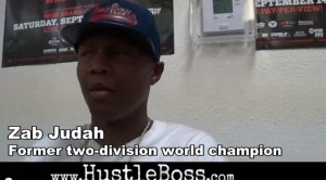 Zab Judah on Floyd's training