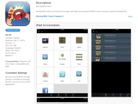 Ipad App print screen
